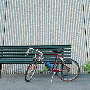 Bicycle 41 by Ashwin Mehta, Image Photography, Digital Print on Paper, Gray color