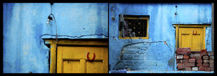 Untitled by Ajay Rajgarhia, Image Photography, Digital Print on Archival Paper, Blue color