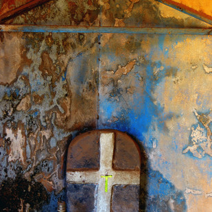 Abandoned 1 by Ajay Rajgarhia, Image Photography, Digital Print on Archival Paper, Brown color
