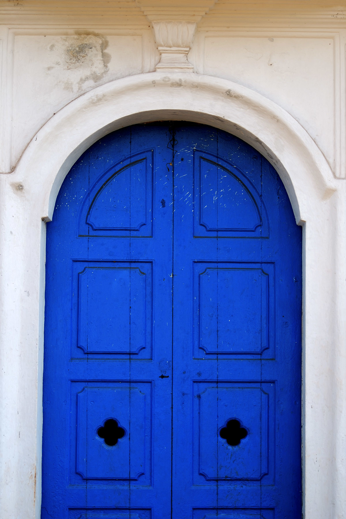 The Blue Door by Ajay Rajgarhia, Image Photography, Digital Print on Archival Paper, Blue color