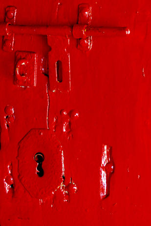 Red by Ajay Rajgarhia, Digital Photography, Digital Print on Archival Paper, Red color