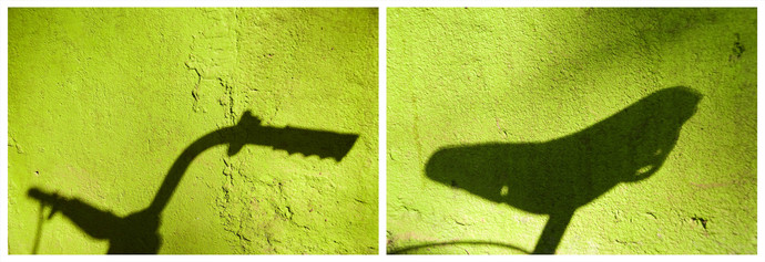 Shadows 2 by Ajay Rajgarhia, Image Photography, Digital Print on Archival Paper, Yellow color