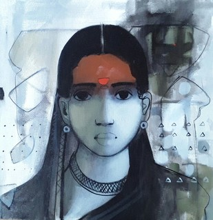 Face 1 Artwork By Sachin Sagare