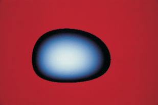 Galaxy 48 by Ashwin Mehta, Image Photography, Digital Print on Paper, Red color