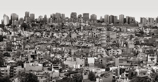 City Unclaimed by Gigi Scaria, Digital Digital Art, Digital Print on Archival Paper, Gray color