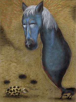 Untitled Artwork By Viraj Naik