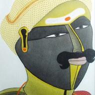 Thota vaikuntam untitled 12 x 9 inches acrylic on canvas 10674
