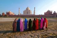 Glorious India 01 by Rupinder Khullar, Image Photography, Digital Print on Paper, Brown color