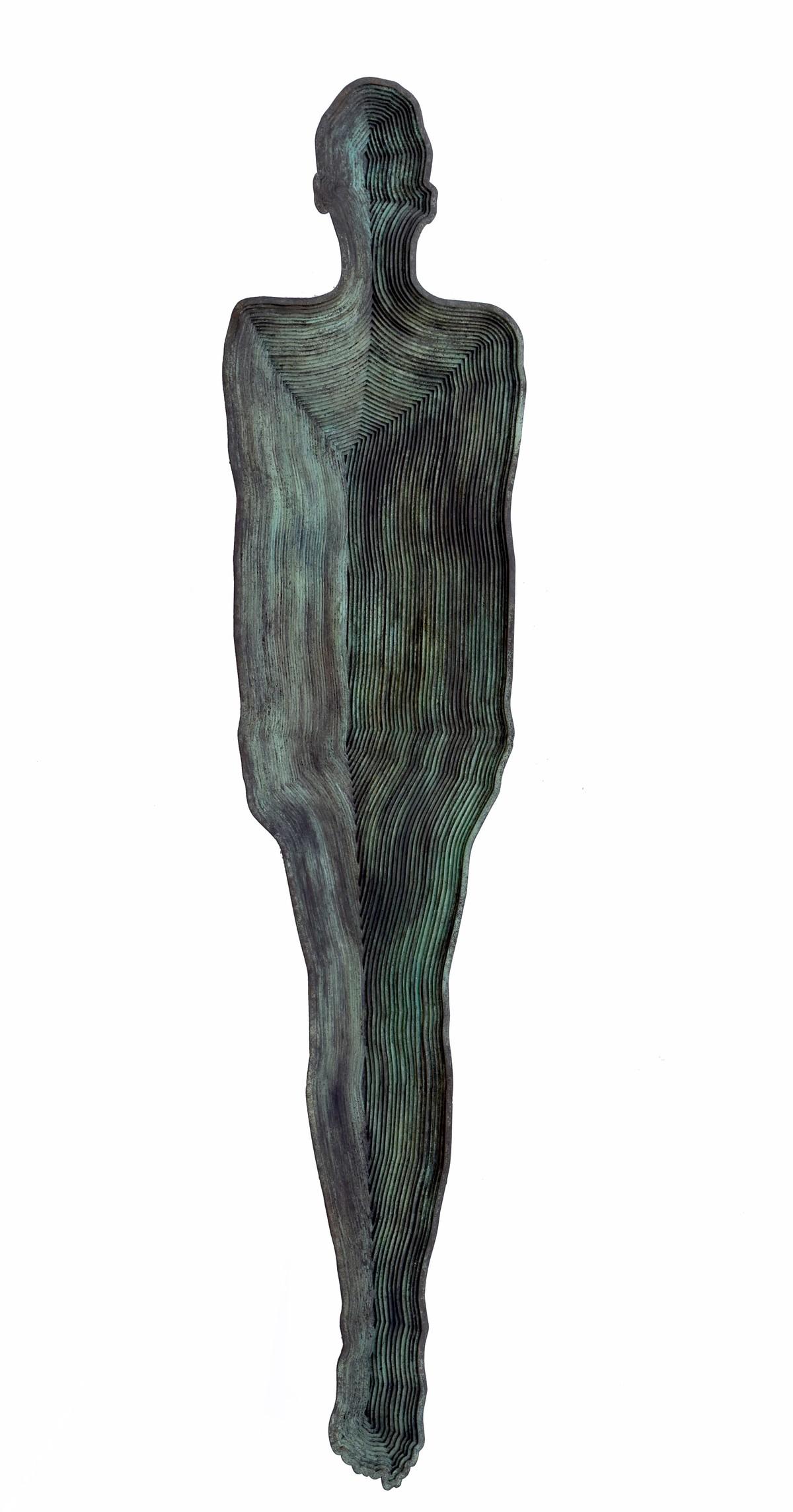 Nest II by Janarthanan R, Art Deco Sculpture | 3D, Iron, White color