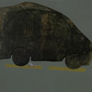 Fawl 4 rahul vajale creatures great and small 4 acrylic   charcoal on canvas 184 x 137 cm 2007