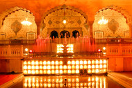 Glorious India 14 by Rupinder Khullar, Image Photograph, Digital Print on Paper, Orange color