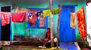 Untitled by Karan Khanna, Digital Photograph, Digital Print on Archival Paper, Blue color