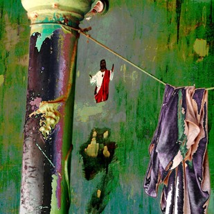 Untitled by Karan Khanna, Digital Photograph, Digital Print on Archival Paper, Green color