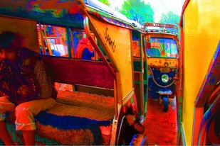 Untitled by Karan Khanna, Image Photograph, Digital Print on Archival Paper, Brown color