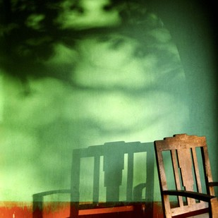 Untitled by Karan Khanna, Image Photograph, Digital Print on Archival Paper, Green color