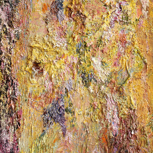 Responding Balancing The Rhythm Of Chaos 3 by Nandita Mukand, Abstract Painting, Mixed Media on Canvas, Brown color