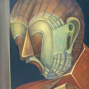 Total Expression Digital Print by Niku Guleria,Expressionism
