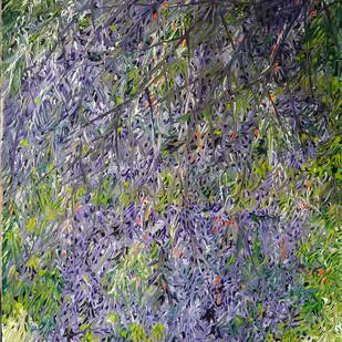 Untitled by Palash chandra naskar, Impressionism Painting, Acrylic on Acrylic Sheet, Gray color