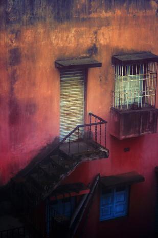 Old Dwelling by Krishnendu Chatterjee, Image Photograph, Digital Print on Archival Paper, Brown color