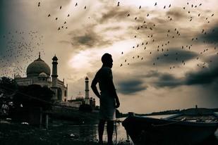Wonder Of Wonders by Krishnendu Chatterjee, Image Photograph, Digital Print on Archival Paper, Beige color