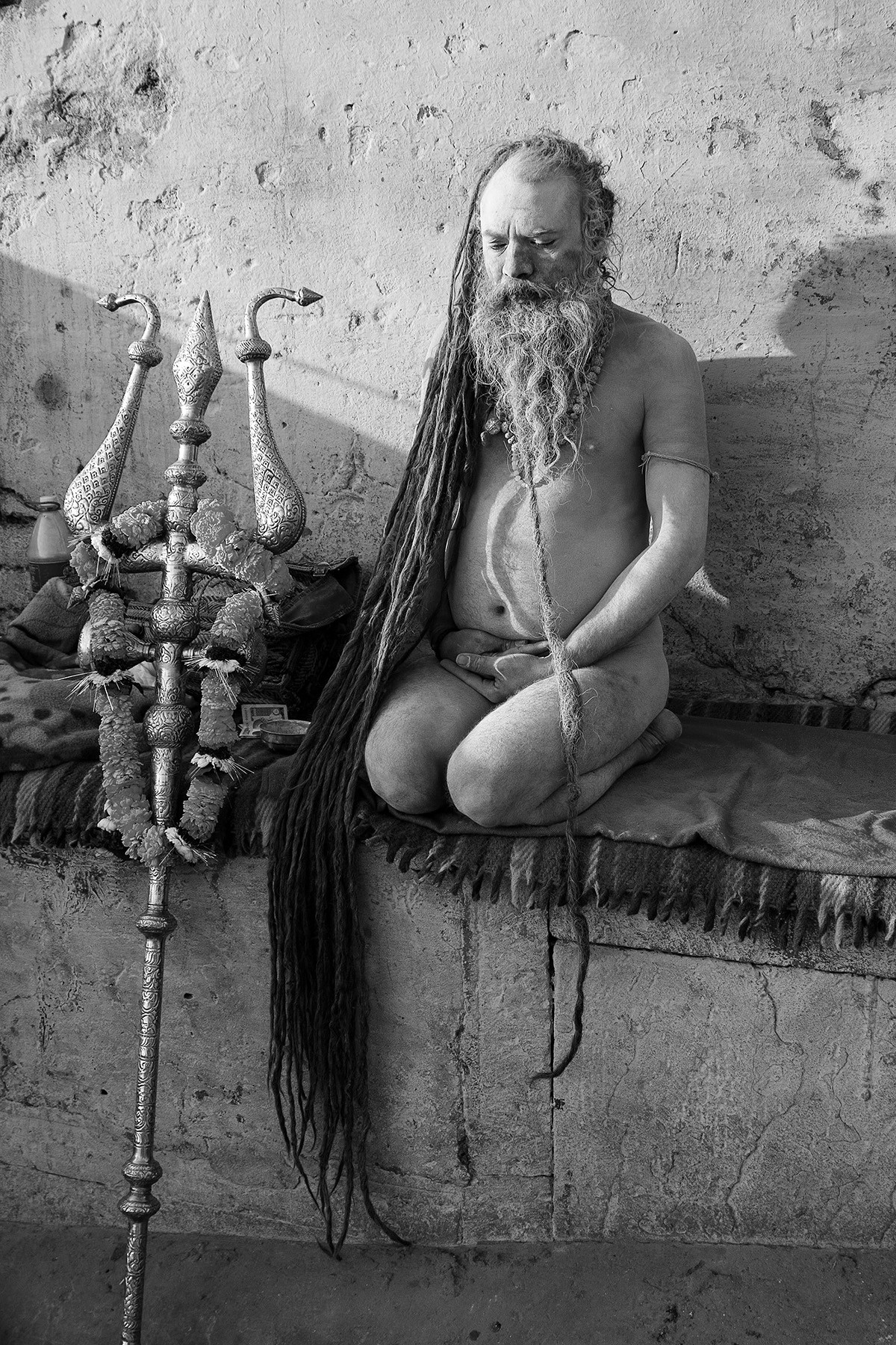 Banaras 06 by Arunkumar Mishra, Image Photograph, Digital Print on Paper, Gray color