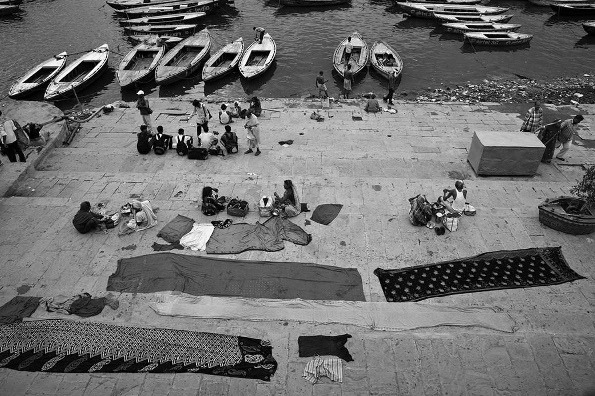 Banaras 34 by Arunkumar Mishra, Image Photograph, Digital Print on Paper, Gray color