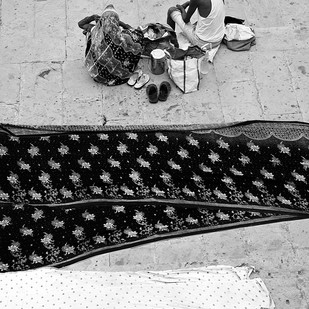 Banaras 37 by Arunkumar Mishra, Image Photograph, Digital Print on Paper, Gray color