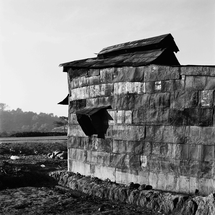 Outpost: Untitled 9 by Samar Singh Jodha, Image Photograph, Digital Print on Archival Paper, Gray color