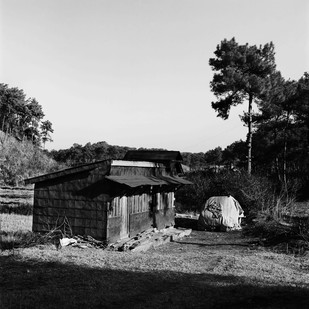 Outpost: untitled 12 by Samar Singh Jodha, Image Photograph, Digital Print on Archival Paper, Gray color