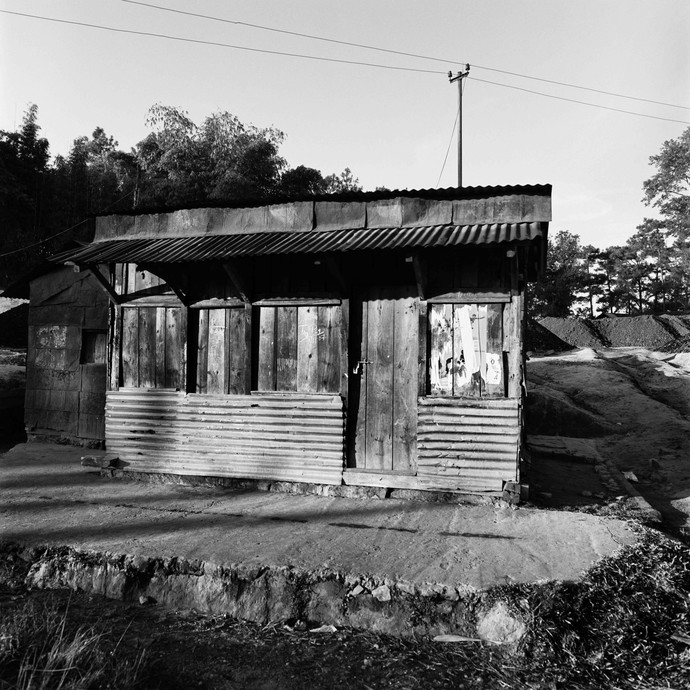 Outpost: Untitled 16 by Samar Singh Jodha, Image Photograph, Digital Print on Archival Paper, Gray color
