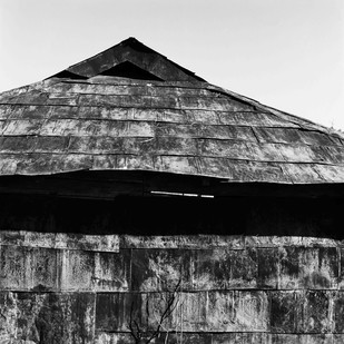 Outpost: Untitled 18 by Samar Singh Jodha, Image Photograph, Digital Print on Archival Paper, Gray color