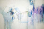 Light 4 by Tarini Ahuja, Abstract Painting, Acrylic on Canvas, Gray color