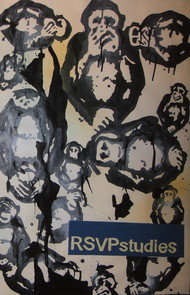 RSVP Studies by Jitish Kallat, Impressionism Painting, Mixed Media on Paper, Gray color