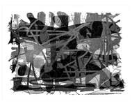 Untitled by Shalini Saran, Digital Digital Art, Digital Print on Archival Paper, Gray color