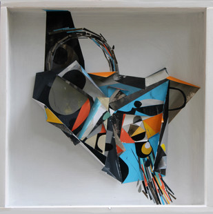 Found - Memory by Parag Natekar, Abstract , Mixed Media, Gray color