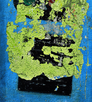 Composition by Dipak Asole, Image Photography, Digital Print on Canvas, Green color