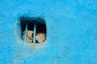 Zaroka by Dipak Asole, Image Photograph, Digital Print on Canvas, Cyan color