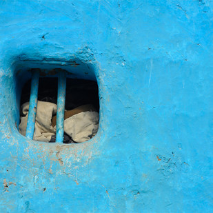 Zaroka by Dipak Asole, Image Photograph, Digital Print on Canvas, Cyan color