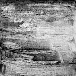 Untitled by Shishir Bhatt, Abstract Painting, Acrylic on Canvas, Gray color