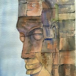 Divine Smile Digital Print by Priti Dhongadi,Impressionism