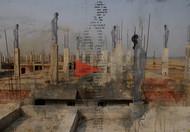 Lament of Destruction II by Ishita Adhikary , Decorative Digital Art, Digital Print on Enhanced Matt, Brown color
