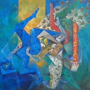 The Eves Digital Print by Neeta Singh,Expressionism