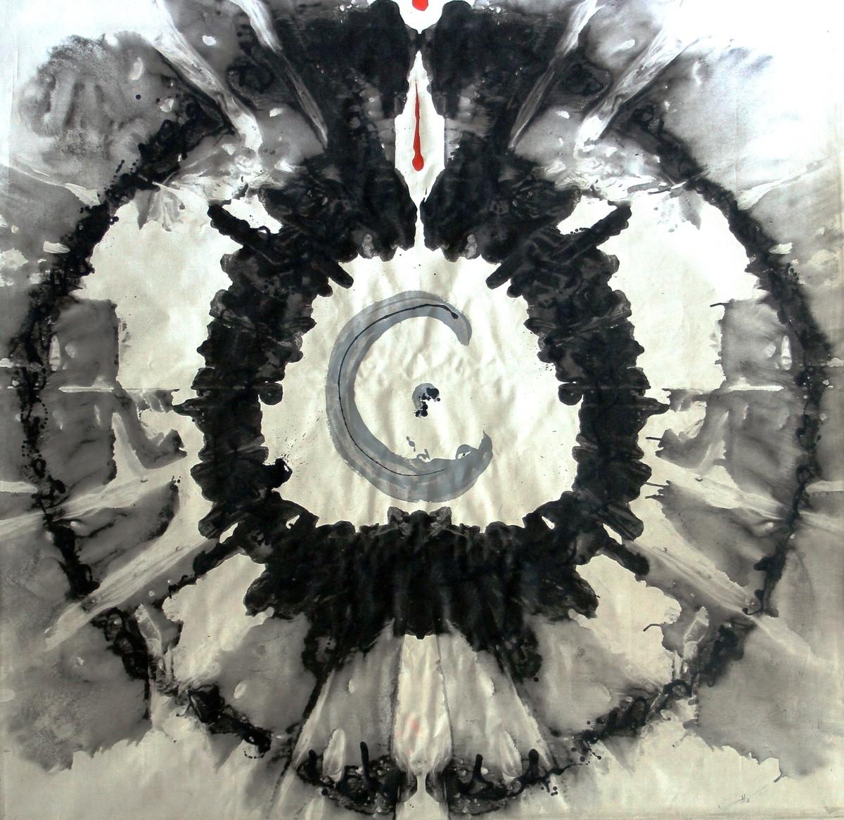 ETERNAL CIRCLE-GOD'S EYE Digital Print by Baljit Singh Chadha,Abstract