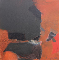 Untitled by Ravindra Parkhi , Abstract Painting, Mixed Media on Canvas, Gray color