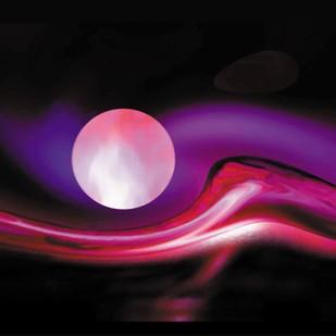 Romance by Arun Trivedi , Digital Digital Art, Digital Print on Enhanced Matt, Black color