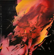 5.30 pm by Sudip Roy, Abstract Painting, Oil on Canvas, Brown color