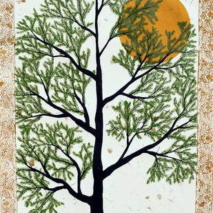 Prabanvriksh Digital Print by Sumit Mehndiratta,Decorative