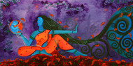 Transcendence Digital Print by Pragati Sharma Mohanty,Traditional