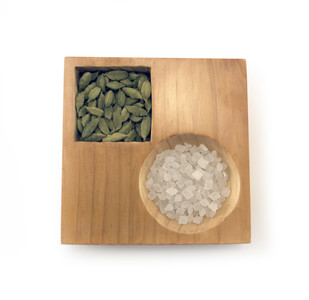 Dot Square Bowl and Tray By Objectry