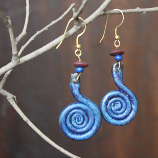 quilling by Aranya Earthcraft, Traditional Earring